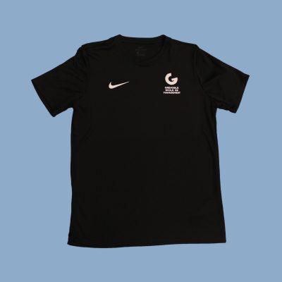Copie de Tshirt nike noir_Fond bleu
